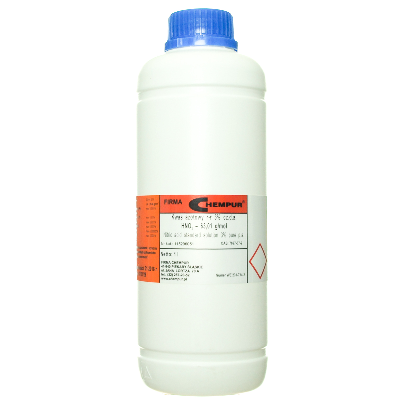 Nitric acid standard solution 3% pure p.a.