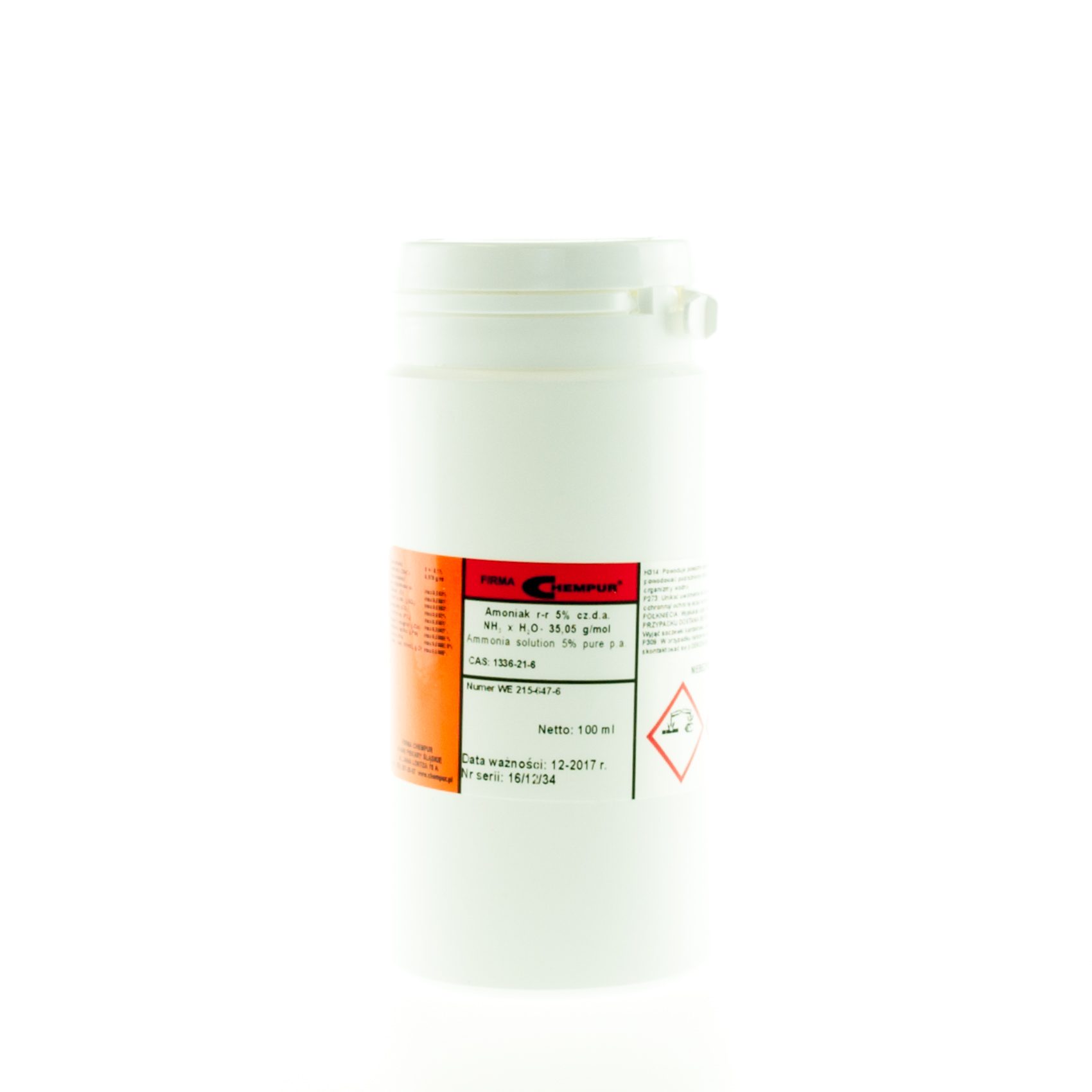 Ammonia solution 5% pure p.a.