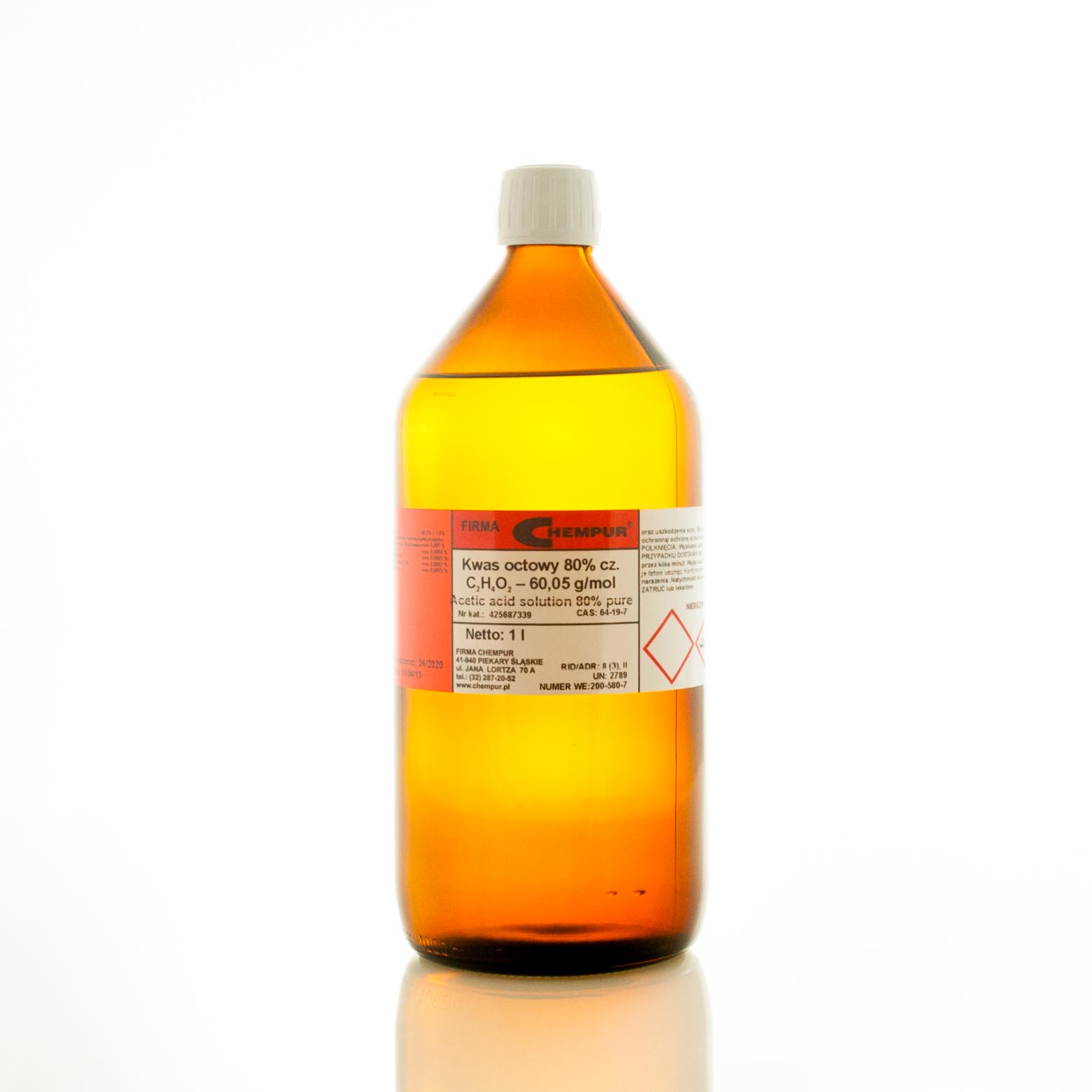 ACETIC ACID SOLUTION 80%