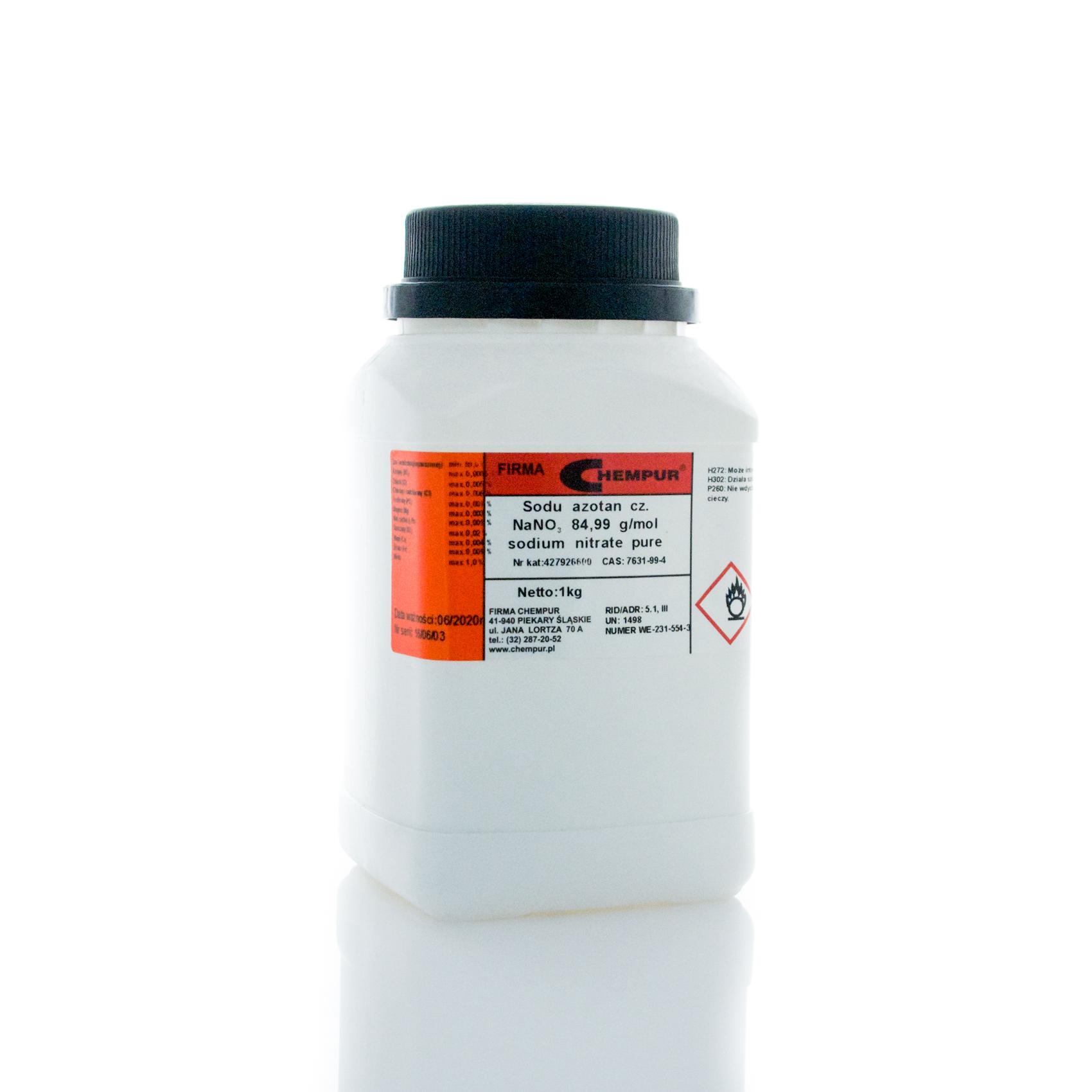 SODIUM NITRATE 1 [kg] Pure Chempur