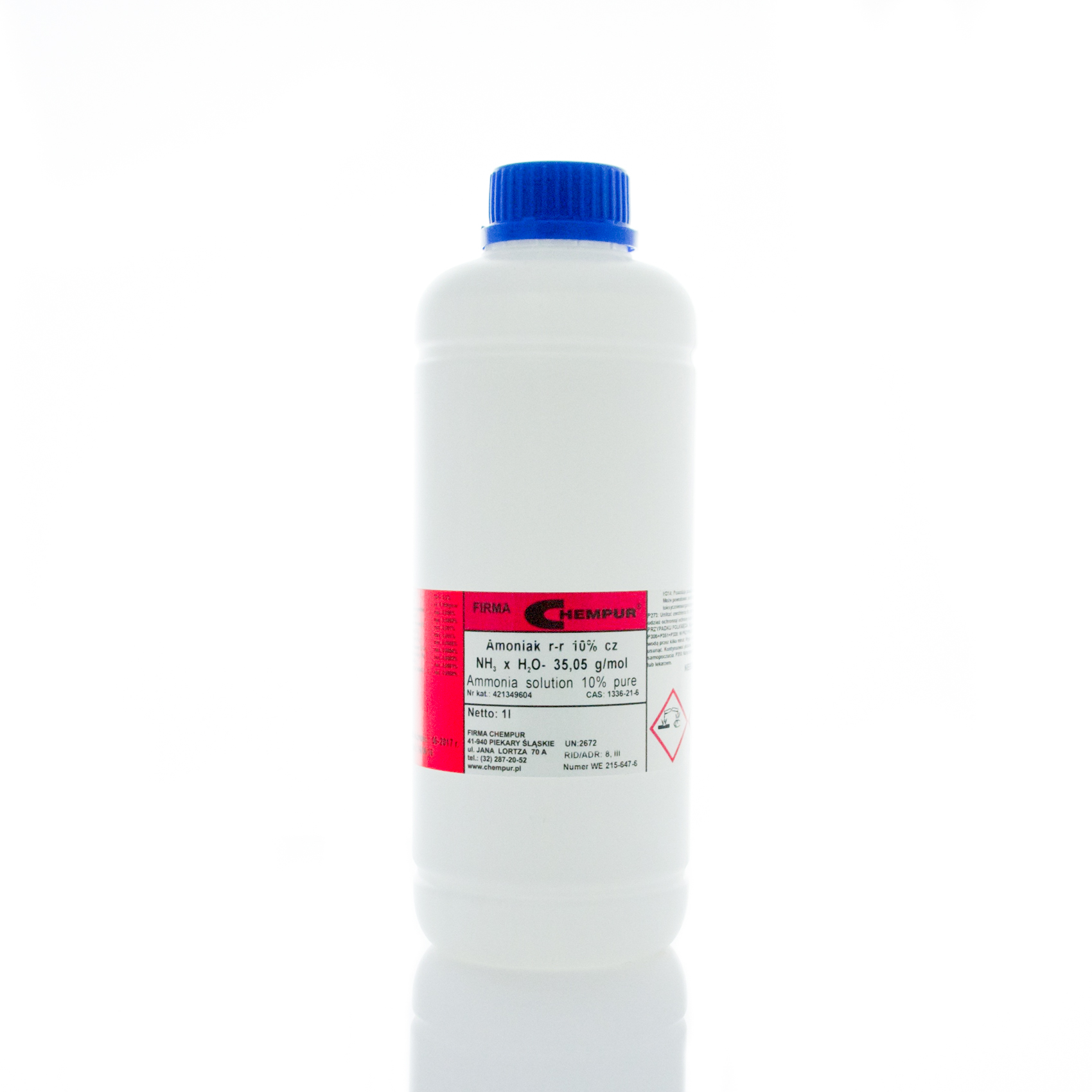 Ammonia solution 10% pure
