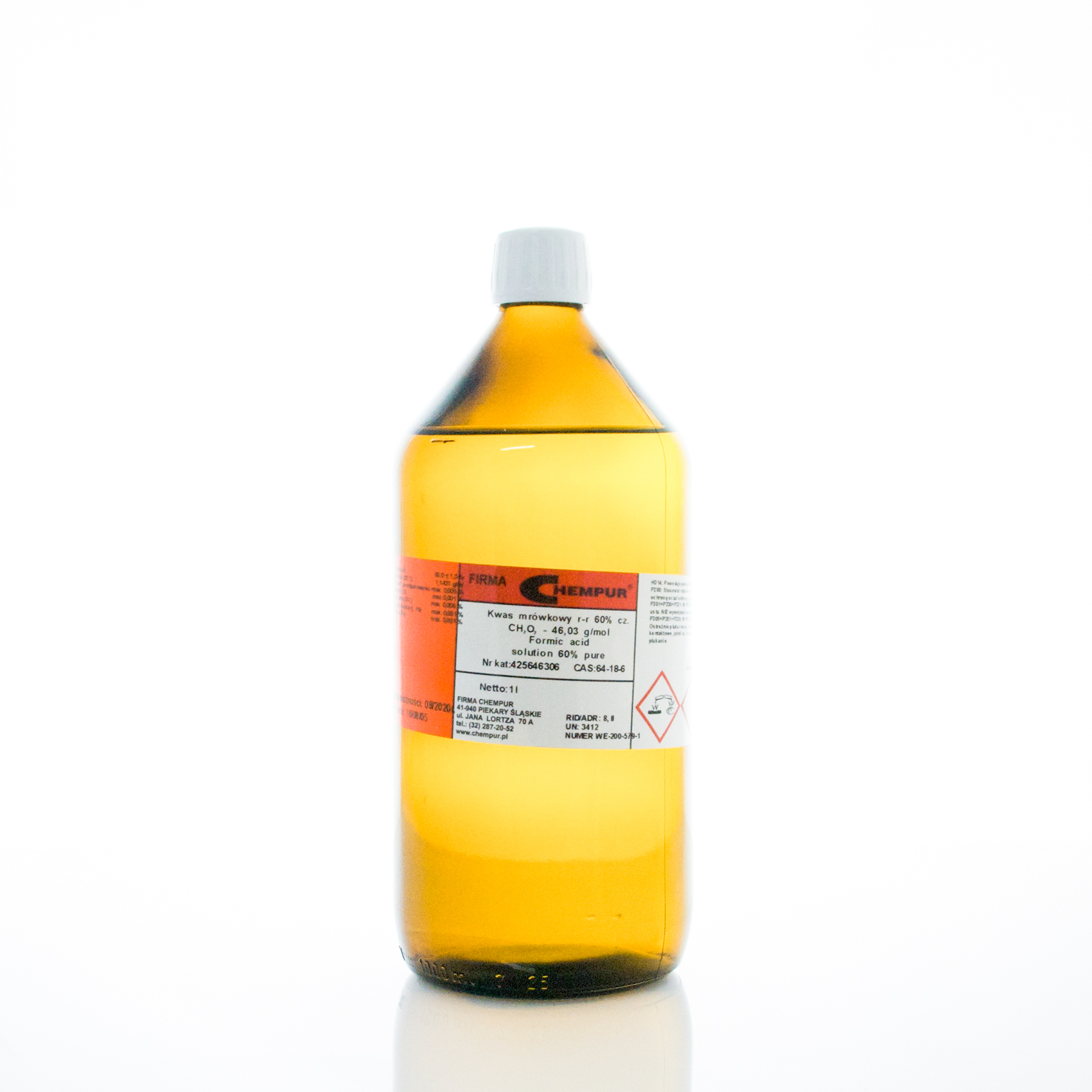Formic acid solution 60% pure
