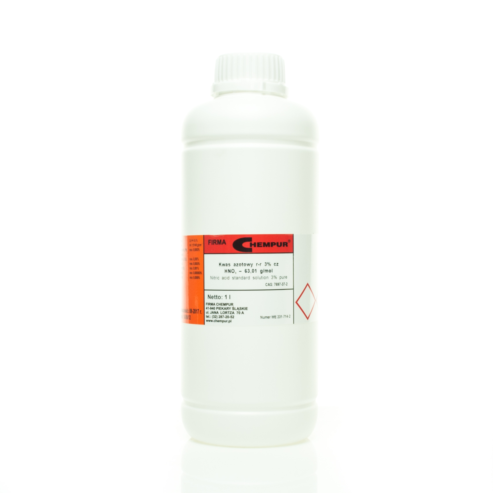 Nitric acid standard solution 3% pure