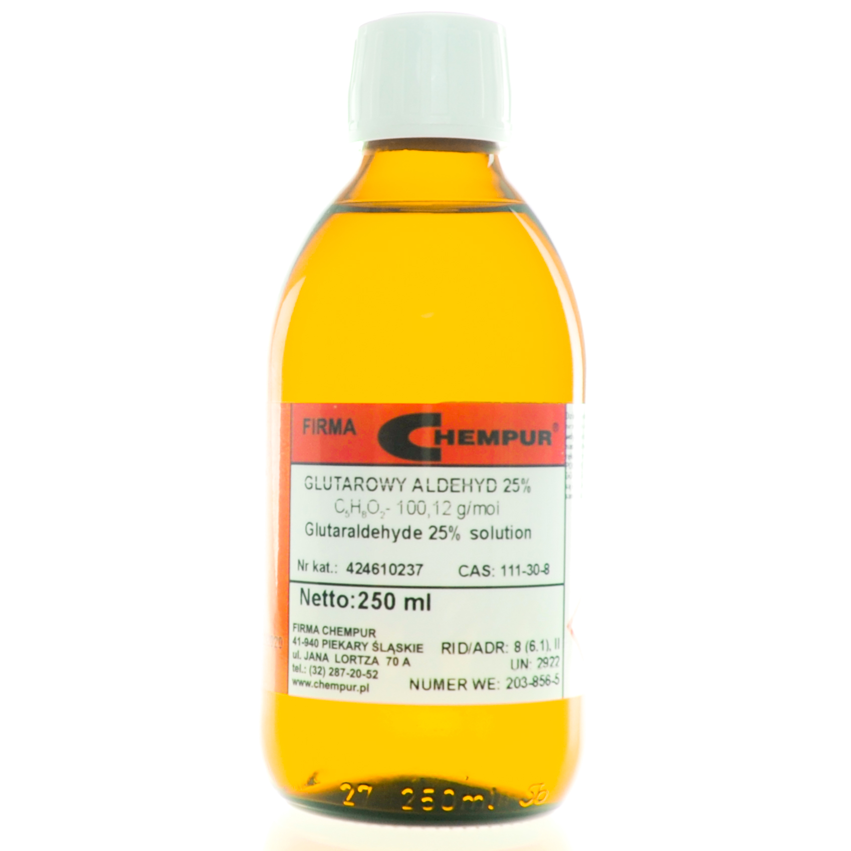 Glutaraldehyde 25% solution