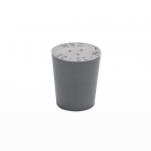 Rubber stopper grey