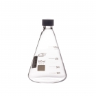 Erlenmeyer flask with a screw cap